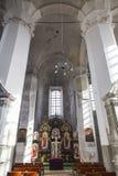 Chiesa della trinità santa a Vilnius Fotografia Stock