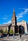Chiesa della via di Arlington, Boston, mA Fotografia Stock