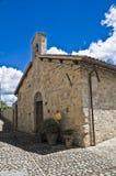 Chiesa dello St Lucia. Montefalco. L'Umbria. Fotografie Stock