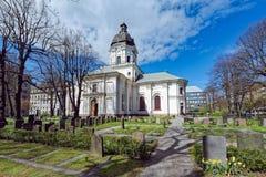 Chiesa di Adolf Frederick a Stoccolma Fotografia Stock Libera da Diritti