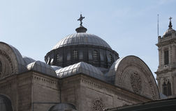 Chiesa di Agia Triada Fotografie Stock