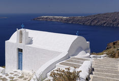 Chiesa di Agios Georgios fotografia stock libera da diritti