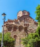 Chiesa di Agios Panteleimon Thessaloniki fotografia stock