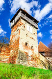 Chiesa di Alma Vii, la Transilvania, Romania Immagine Stock