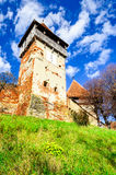 Chiesa di Alma Vii, la Transilvania, Romania Immagini Stock Libere da Diritti