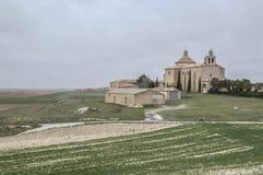 Chiesa di Almenar de Soria Immagini Stock