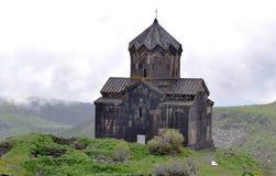 Chiesa di Amberd Immagine Stock
