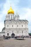 Chiesa di arcangeli Mosca Kremlin Luogo del patrimonio mondiale dell'Unesco Fotografie Stock Libere da Diritti