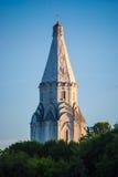 Chiesa di ascensione in Kolomenskoye a Mosca fotografia stock