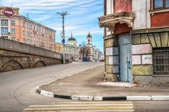 Chiesa di ascensione in Tver' fotografia stock libera da diritti
