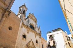 Chiesa di Assunta Fasano La Puglia L'Italia Fotografia Stock
