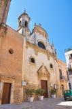 Chiesa di Assunta Fasano La Puglia L'Italia Immagini Stock Libere da Diritti