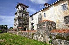 Chiesa di Baclayon, Bohol, Filippine immagine stock libera da diritti