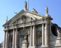 Chiesa di Baroque di Venezia fotografia stock libera da diritti