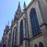 Chiesa di Basilea Fotografia Stock Libera da Diritti