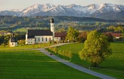 Chiesa di Baviera Immagini Stock