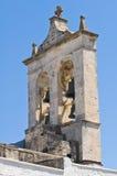 Chiesa di Belltower di Ostuni. La Puglia. Fotografia Stock Libera da Diritti