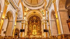 Chiesa di Benidorm Immagine Stock