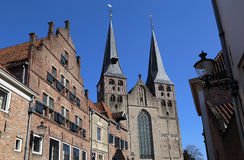 Chiesa di Bergkerk in Deventer, Olanda Fotografia Stock