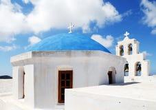 Chiesa di bianco dell'annata Fotografia Stock