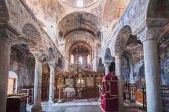 Chiesa di Bizantino di Mystras Immagini Stock