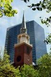 Chiesa di Boston Immagini Stock