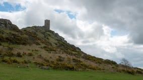 Chiesa di Brentor, Devon Fotografia Stock