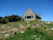 Chiesa di buon pastore in Nuova Zelanda Fotografia Stock Libera da Diritti