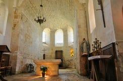 Chiesa di cales della Francia nel lotto Fotografie Stock