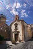 Chiesa di Caltagirone Fotografia Stock Libera da Diritti