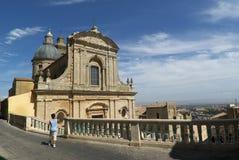 Chiesa di Caltagirone Immagine Stock