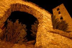Chiesa di Canillo, Andorra Fotografia Stock Libera da Diritti