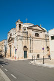 Chiesa di carminio Rutigliano La Puglia L'Italia Immagine Stock