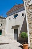 Chiesa di carminio. Sant'Agata di Puglia. La Puglia. L'Italia. Immagine Stock Libera da Diritti