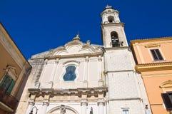 Chiesa di carminio Torremaggiore La Puglia L'Italia Immagini Stock