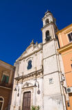 Chiesa di carminio Torremaggiore La Puglia L'Italia Fotografia Stock Libera da Diritti