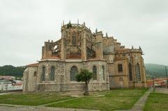 Chiesa di Castro Urdiales Fotografia Stock