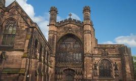 Chiesa di Chester Cathedral Fotografia Stock