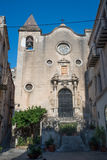 Chiesa di Chiesa del Purgatorio Cefalu, Sicilia Immagine Stock Libera da Diritti