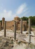 Chiesa di chrysopolitissa di kyriaki di Ayia nel Cipro immagini stock libere da diritti