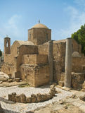 Chiesa di chrysopolitissa di kyriaki di Ayia nel Cipro Fotografia Stock Libera da Diritti