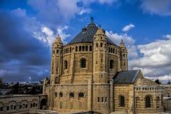 Chiesa di città santa fotografia stock