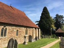 Chiesa di Copford, Essex, Inghilterra fotografia stock libera da diritti