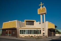 Chiesa di Corozal Fotografie Stock
