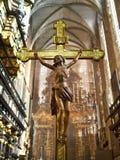 Chiesa di Corpus Christi - di Cracovia - la Polonia Fotografia Stock Libera da Diritti