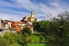 Chiesa di Corrido, Lombardia Immagine Stock