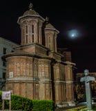Chiesa di Cretulescu, Bucarest Fotografia Stock Libera da Diritti