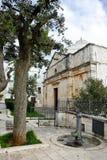Chiesa di Cristo in Cisternino (Italia) Fotografie Stock Libere da Diritti