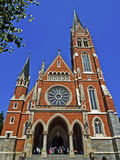 Chiesa di cuore sacro di Gesù Fotografia Stock