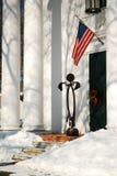 Chiesa di Deerfield, Natale Fotografia Stock Libera da Diritti